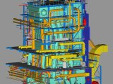 3D Model of the Boiler and the Technology in the Otrokovice Heating Plant