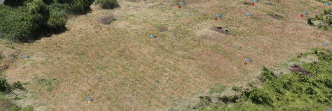 Digitální model terénu a vrstevnice pro potřeby archeologie