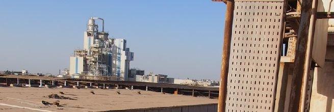 Dokumentace skutečného stavu průmyslového komplexu v Káhiře, Egypt