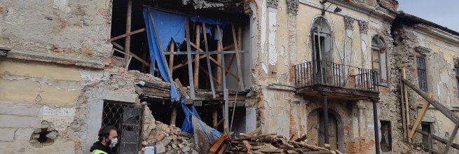 Dokumentace skutečného stavu zámku Pravonín