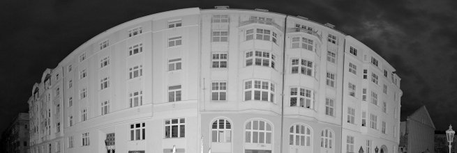 Laser Scanning of Residential Building in Prague Center