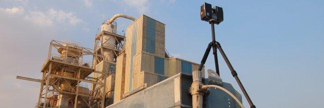 Laserové skenování v Káhiře