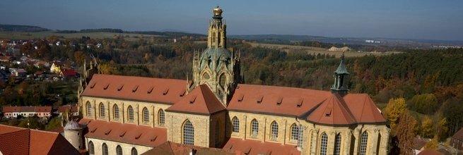 Letecké snímkování a 3D modely skutečného stavu fasád kláštera v Kladrubech