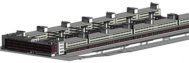 Freight railway station Žižkov