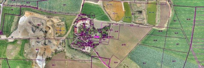 Vyhotovení ortofotomapy oblasti o rozloze 5,2 km²
